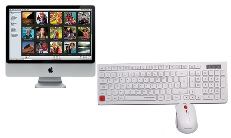 Apple iMac 24'' Core 2 Duo reacondicionado de 2,66GHz, 320Go HDD y 4Go RAM (entrega gratuita) Oferta en Groupon