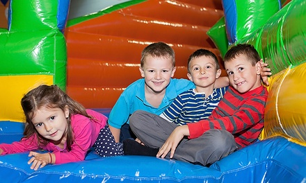 Play Arena Entry for One Child: Weekday $6 or Weekend with Meal $12 at Croc's Playcentre Marsden Park