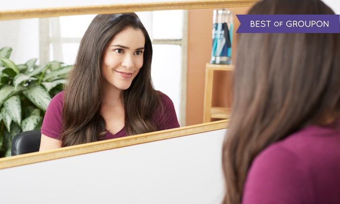 Terrace Retreat Salon & Day Spa - Southlake Town Square: Haircut, Style, and Deep-Conditioning Treatment with Option for Partial Highlights (Up to 72% Off)