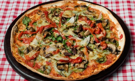 $29 for Two Takeaway Pizzas or Pasta Dishes with Bottle of Soft Drink at Little Italy Pizza and Pasta (Up to $47 Value)
