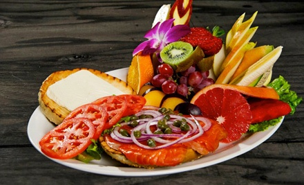 Breakfast and Lunch at Tutti Frutti Breakfast & Lunch (45% Off). Four Options Available.
