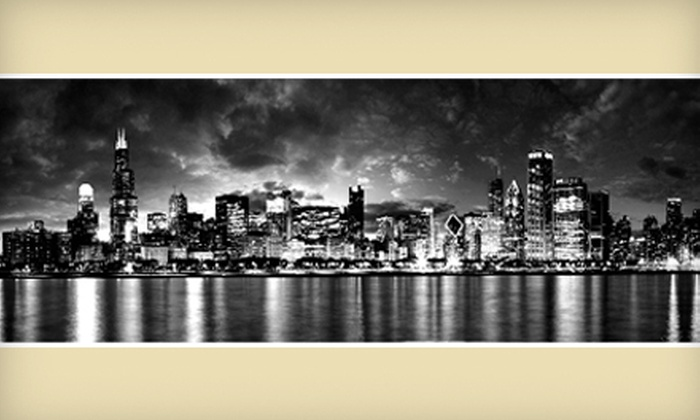 Art & Company - Orland Park: Canvas Print of Chicago with Optional Shipping or $49 for $150 Worth of Custom Framing at Art & Company in Orland Park