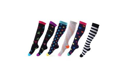 Lot de 3 paires de chaussettes de compression pour femmes