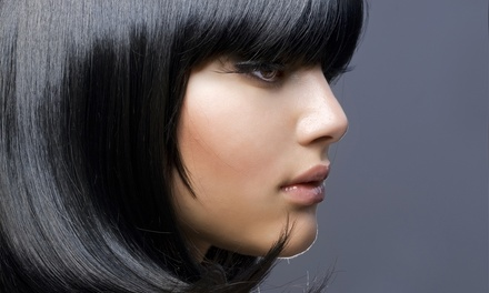 Haircut with Optional Color or Partial Highlights from Hair by Candi at Legacy Salons & Day Spa (Up to 73% Off)