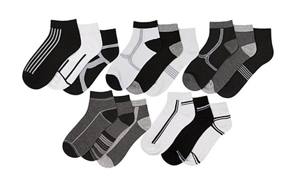 Beverly Hills Polo Club Men's Socks (15-Pack)