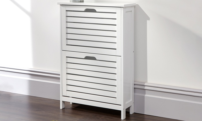 top-rated-deal-icon         Top Rated Deal                                                                                                                                                                                                                                                                                                                                                                                                                       Bergen Two- or Three-Tier Shoe Cabinet in Choice of Colour