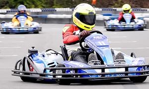 Ralf Schumacher Kartcenter: 3 Einzelfahrten à 10 Minuten inklusive Leih-Helm auf der Kartbahn im Ralf Schumacher Kartcenter (31% sparen*)