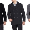Braveman Men's Double-Breasted Wool Peacoats