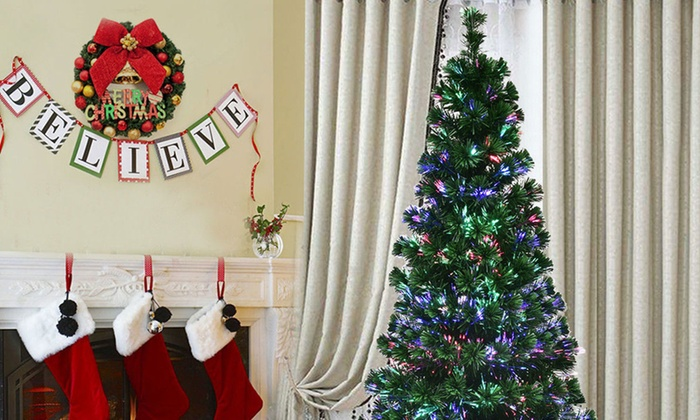 Up To 51% Off On Pre-Lit Christmas Tree