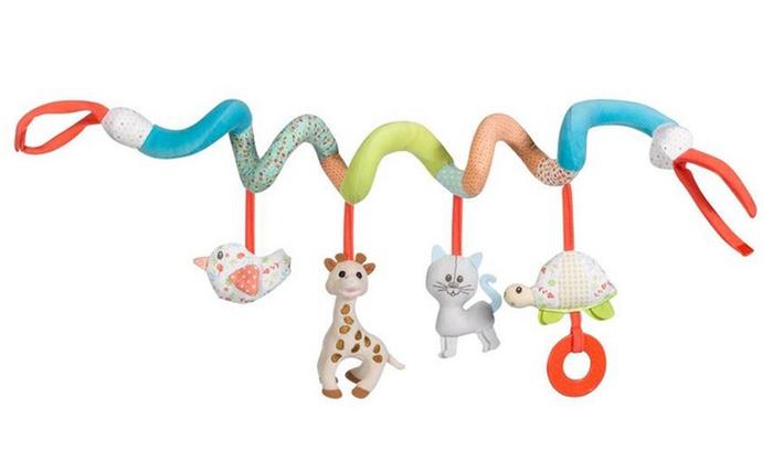 One or Two Sophie la Girafe Activity Spirals