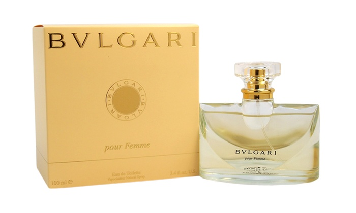bvlgari pour femme fragrance groupon goods. Black Bedroom Furniture Sets. Home Design Ideas