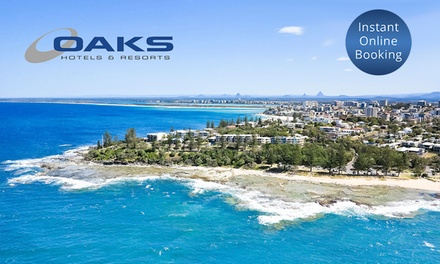 Sunshine Coast: Up to 7 Night Beachside Getaway for Up to Six People at Oaks Seaforth Resort