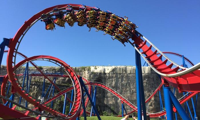 Six Flags Fiesta Texas in - San Antonio, TX | Groupon