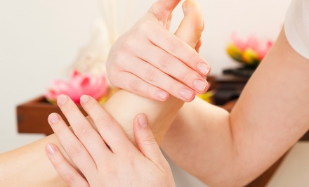 $25 for a One-Hour Reflexology Treatment at Dancing Fingers ($45 Value)