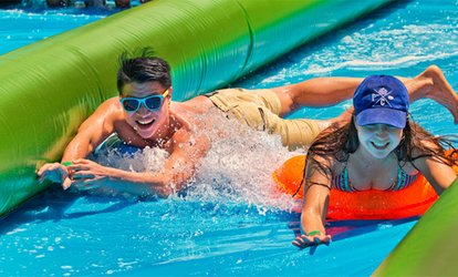 All Day Waterpark Slide Ticket, 22 July in Sheffield, 5 August in London (Up to 36% Off)