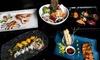 ⏰ Menu giapponese con sakè