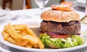 Delmonico Cut Steakhouse: Burger z frytkami dla 2 osób za 54,90 zł i więcej opcji w Delmonico Cut Steakhouse (do -39%)
