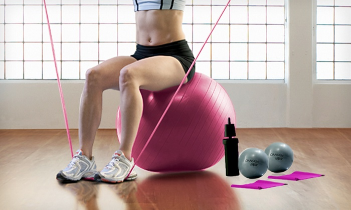 Danskin Now Eight-Piece Pilates Kit: $19 for a Danskin Now Eight-Piece Pilates Kit with Exercise Ball ($29.99 List Price). Free Shipping and Free Returns.