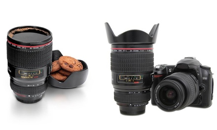 Thumbs Up Camera Lens Coffee Mug for £9.98
