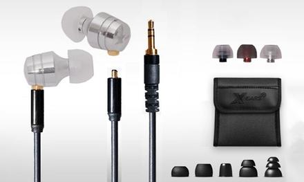 Pure Audio XPA2PRO Kopfhörer mit absteckbarem Kabel von Xears in Silber