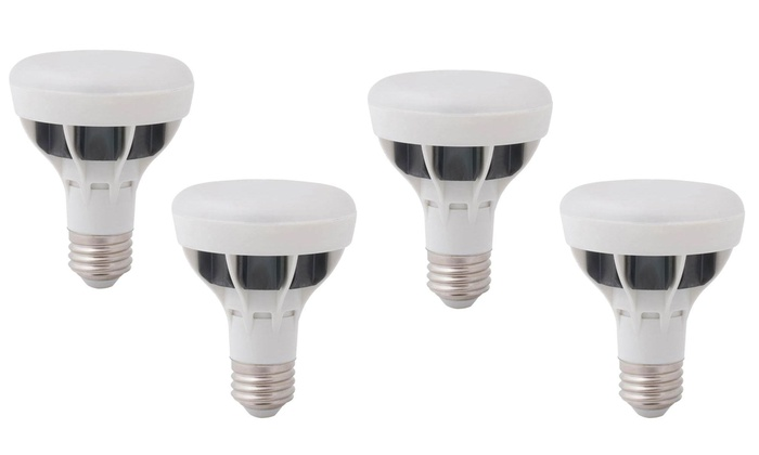 Bright White LED Indoor Flood Lights (4-Pack) | Groupon