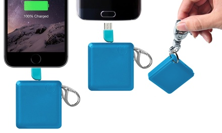 FX Square Keychain 1200mAh Power Bank