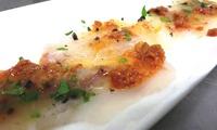 Menu ittico stagionale con caraffa di vino in botte per 2 persone da La Vongola Vorace (sconto 61%)