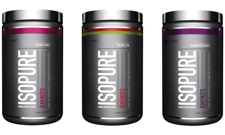 Isopure Aminos with BCAA Workout Supplement (30 Servings) a02ef82a-164b-11e7-9ef8-00259060b5da