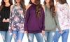 Women's Open-Shoulder Tunic with Hood