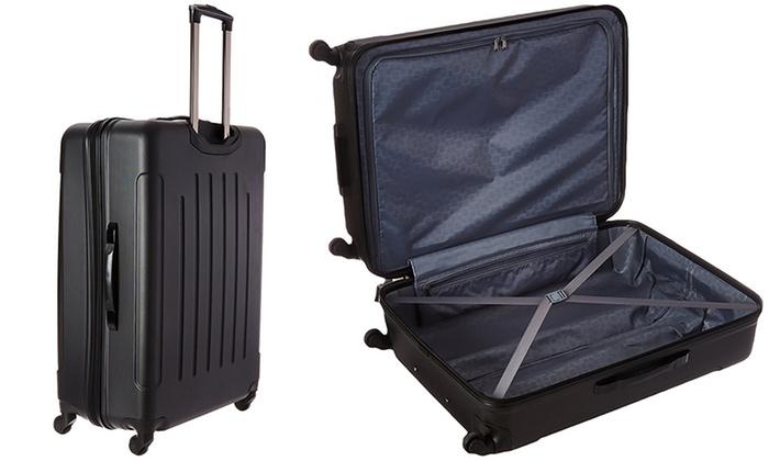 Heritage Hardside Luggage (3-Pc) | Groupon Goods