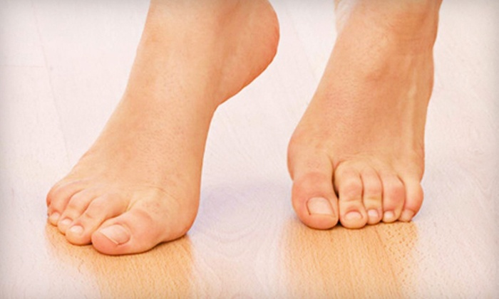 Dr. John Mwando - Financial District: Podiatric Exam or Laser Toenail-Fungus Removal from Dr. John Mwando (Up to 81% Off). Three Options Available.