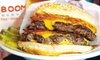 Up to 32% Off American Food and Drinks at ((BOOM)) BURGER
