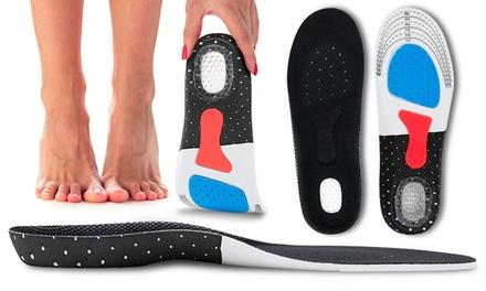 1 ou 2 paires de semelles de support pour pieds
