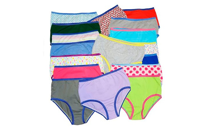 Groupon Goods: 12-Pack Cotton Panties for Women (Shipping Included)