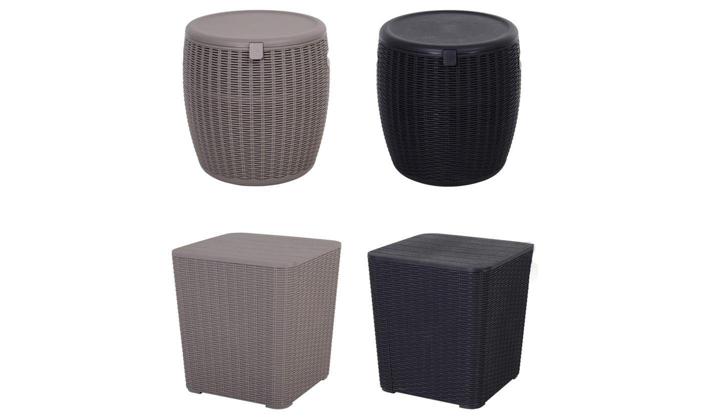 Outsunny PE Rattan Cooler Bucket from £23.99
