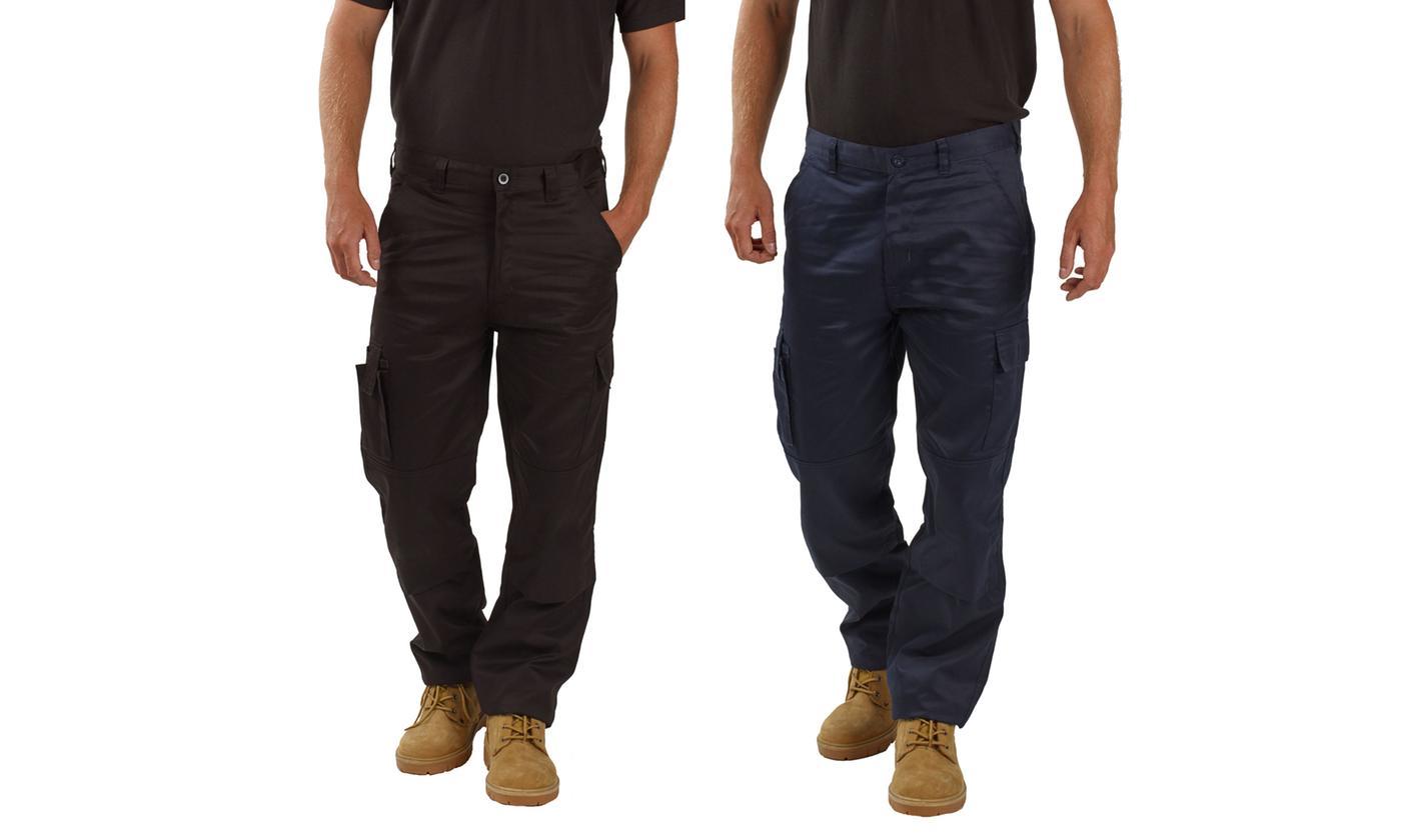 BWM Men's Combat Work Trousers