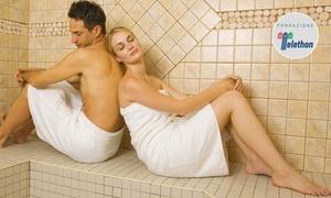 Relaxaria: Percorso benessere di coppia in Hammam area riservata al centro Relaxaria (sconto fino a 72%)