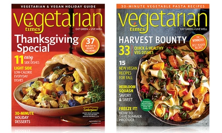 One- or Two-Year Subscription to Vegetarian Times Magazine