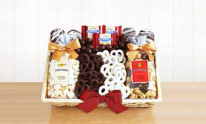Bakery deals coupons groupon image placeholder image for california delicious crunch time sweet snacks gift box negle Choice Image