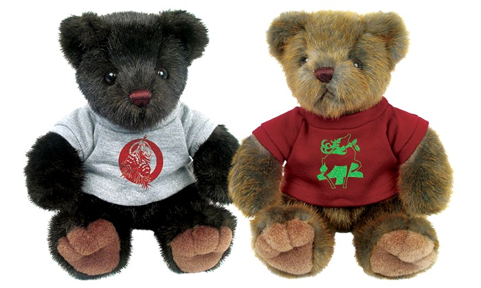Chelsea Teddy Bear Co. - Chelsea: Pair of Holiday Bears or Dress-Your-Own Bear Birthday Party for 10 at Chelsea Teddy Bear Company (Up to 53% Off)