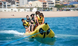 Water Sports Centre: Paseo en kayak y banana para 1 o 2 personas desde 14,95 € en Water Sports Centre