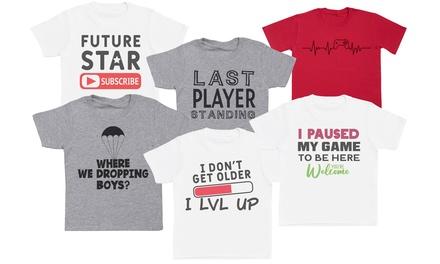 Kids Gaming T-Shirt