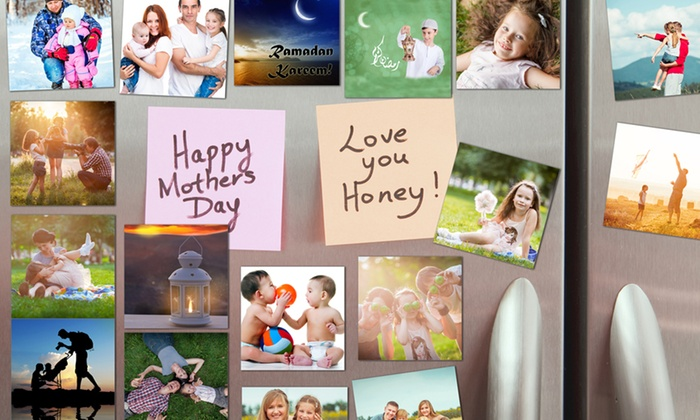 Print Vault Middle East: 20, 25, 30, 35 or 40 Personalized Mini Fridge Magnets from AED 49 (Up to 78% Off)