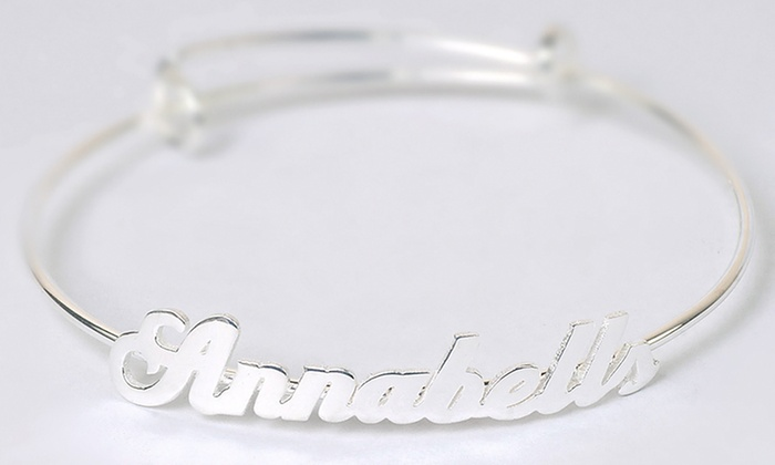 Adjule Personalized Name Bangle Up To 90 Off