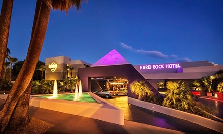 Groupon Deal: Stay at Hard Rock Hotel Palm Springs in California. Dates into September.
