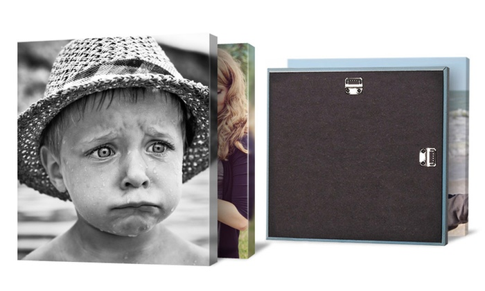 "Canvas on Demand: Four 12""x12"" or 16""x16"" Custom Premium Canvas Wraps at Canvas on Demand (Up to 85% Off)"