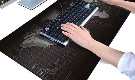 Uno o 2 Mouse Pad raffigurante la mappa del mondo