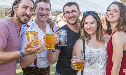 Admission for One, Two, or Four to Temecula Oktoberfest on Saturday, October 6, 2018 (Up to 51% Off)
