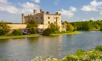 Leeds Castle, Cliffs of Dover and Canterbury Tour with Thames Cruise for One Child or One Adult (52% Off)