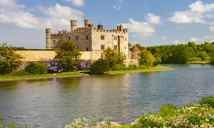 Leeds Castle, Cliffs of Dover and Canterbury Tour with Thames Cruise for One Child or One Adult